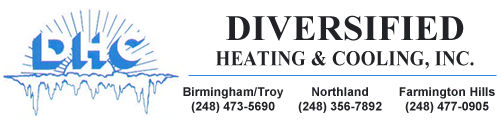 Call Diversified Heating & Cooling, Inc. for reliable AC repair in Farmington Hills MI
